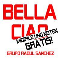 """Midifile und Noten des Wiesnhits """"Bella Ciao"""" gratis"""