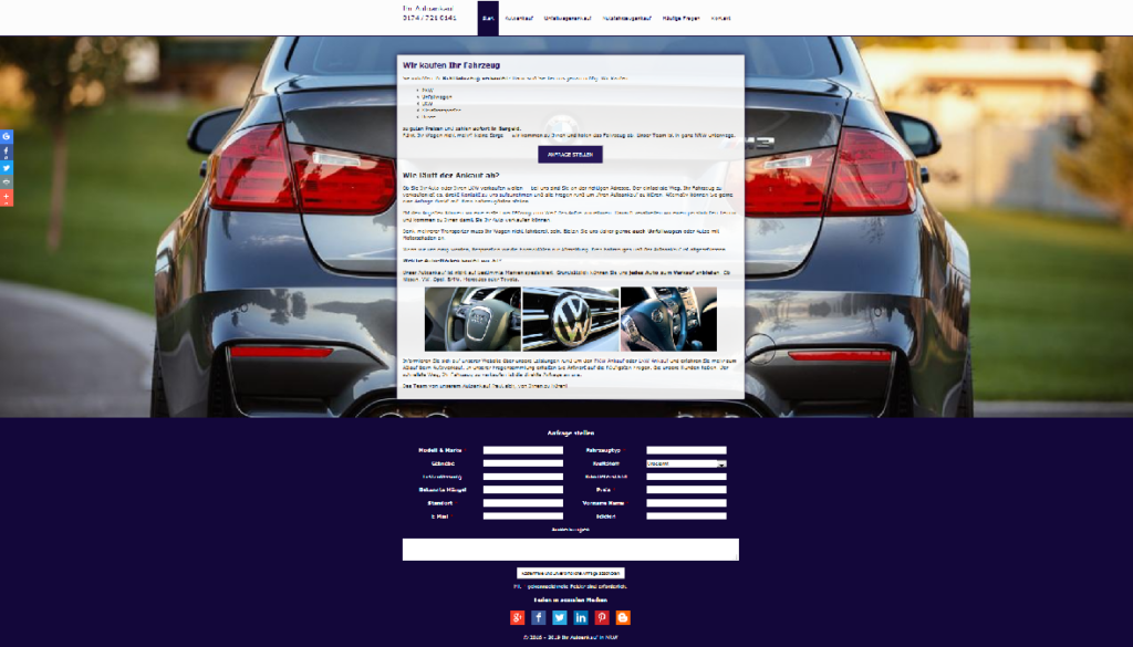 Autoankauf Aachen : Ankauf von Gebrauchtwagen und Unfallfahrzeugen