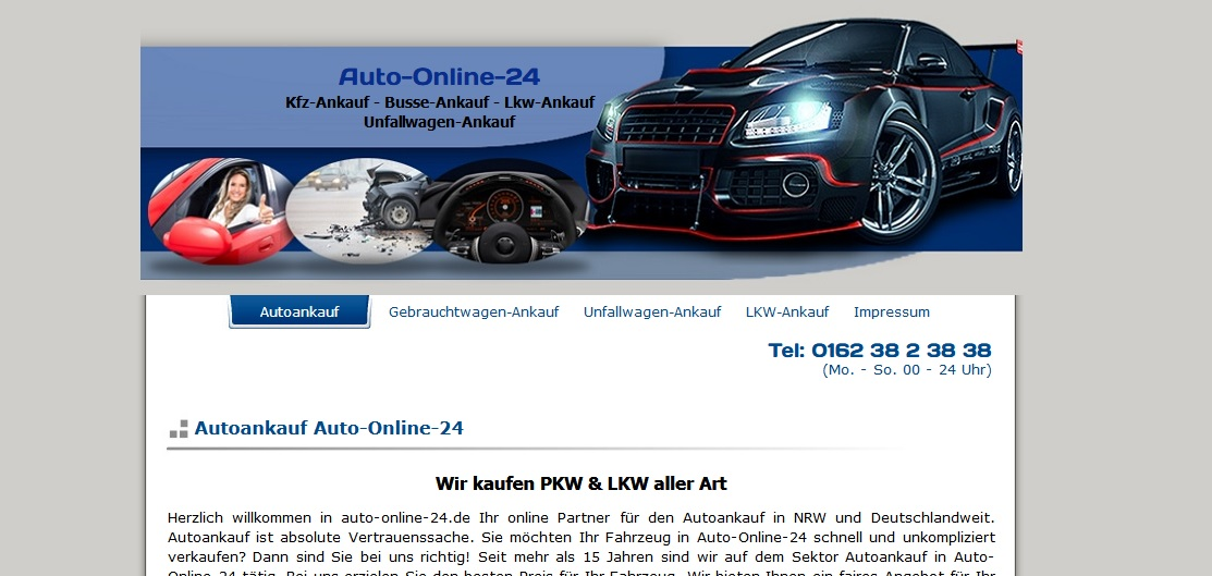 Autoankauf Düsseldorf Gebrauchtwagen & Unfallwagen