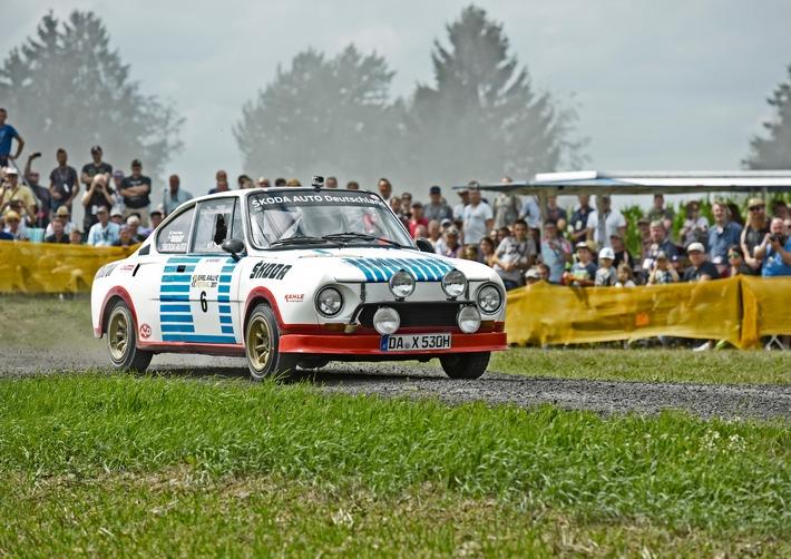 eifel rallye festival skoda auto deutschland mit dem 130 rs und matthias kahle zu gast in daun - Eifel Rallye Festival: SKODA AUTO Deutschland mit dem 130 RS und Matthias Kahle zu Gast in Daun