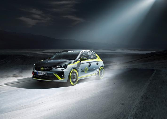 opel praesentiert als erster hersteller ein elektrisches rallyeauto - Opel präsentiert als erster Hersteller ein elektrisches Rallyeauto