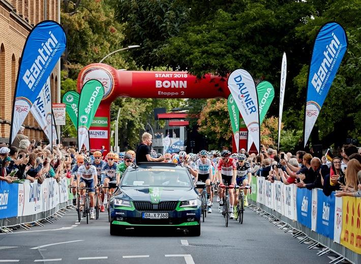 skoda ist erneut engagierter partner des radsport highlights deutschland tour - SKODA ist erneut engagierter Partner des Radsport-Highlights Deutschland Tour