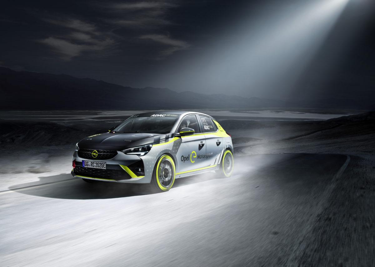 weltpremiere auf der iaa opel praesentiert als erster hersteller ein elektrisches rallyeauto - Weltpremiere auf der IAA: Opel präsentiert als erster Hersteller ein elektrisches Rallyeauto