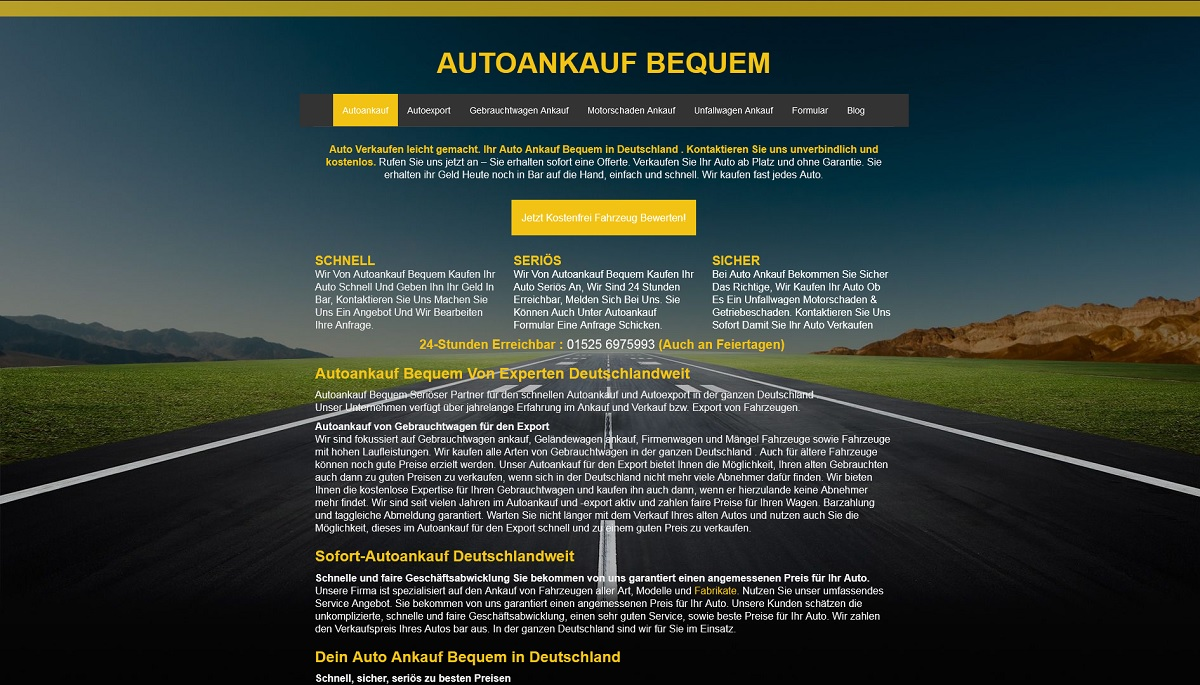 Autoankauf-bequem Crailsheim