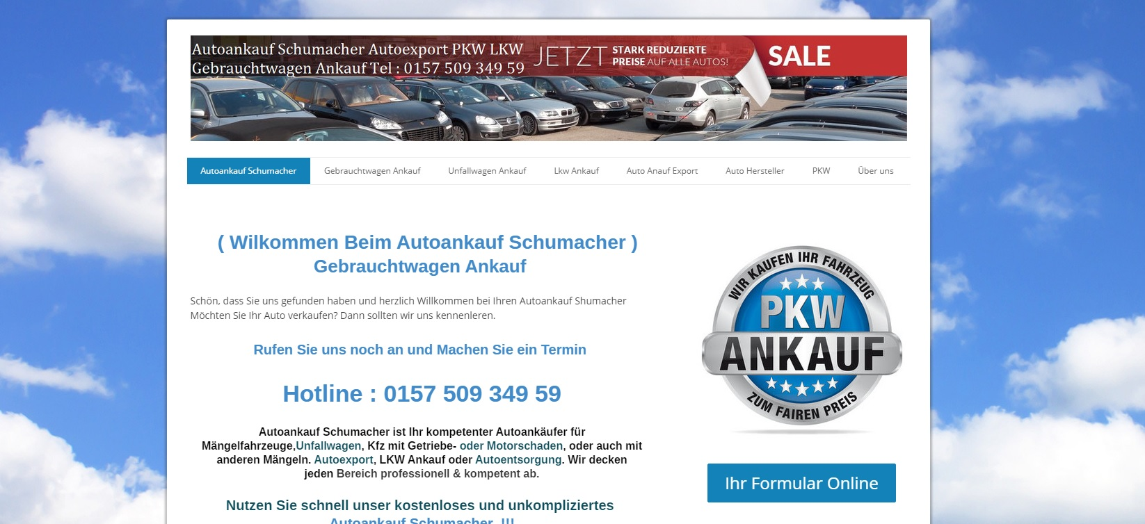 Autoankauf Dresden – autoankauf-schumacher.de