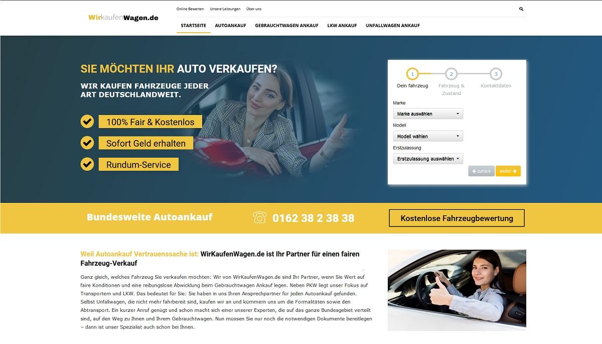 Wirkaufenwagen.de Autoankauf in NRW