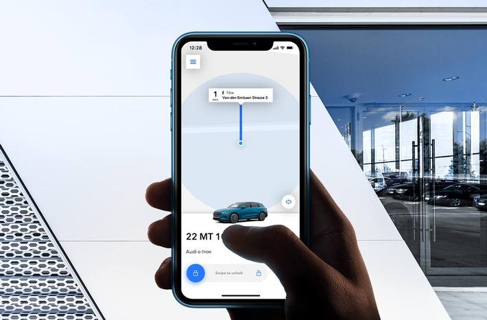 Neuer Umsatz für Autohändler: Mit schlüsselloser Autovermietung per App