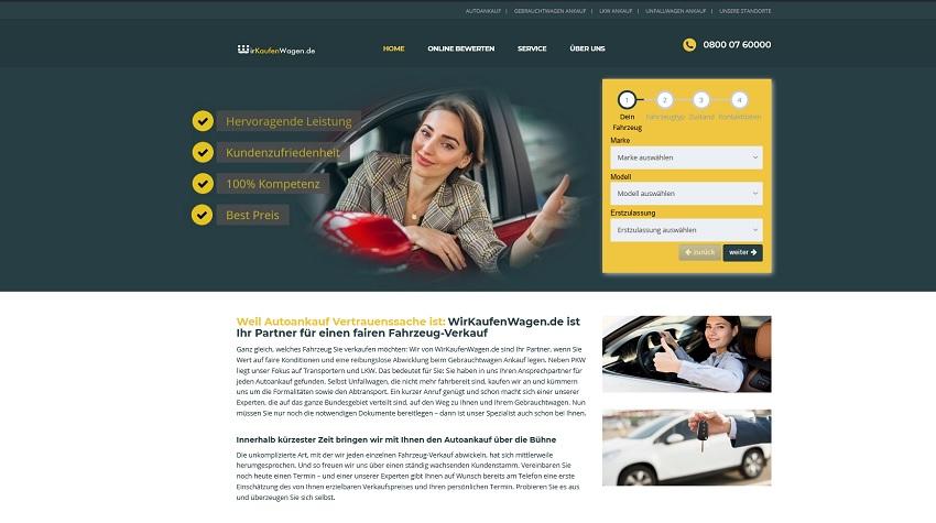 Gebrauchtwagen Ankauf Bönen   Autoankauf Bönen   wirkaufenwagen.de