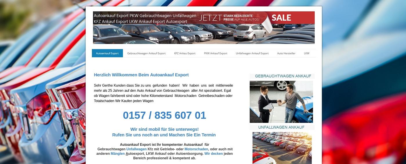 auto-ankauf-exports.de - Autoankauf Essen