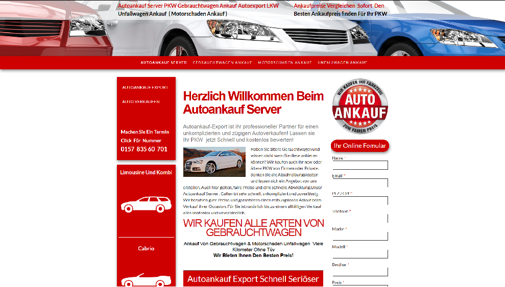 Autoankauf-Server.de | Autoankauf Siegburg | Autoankauf Export Siegburg