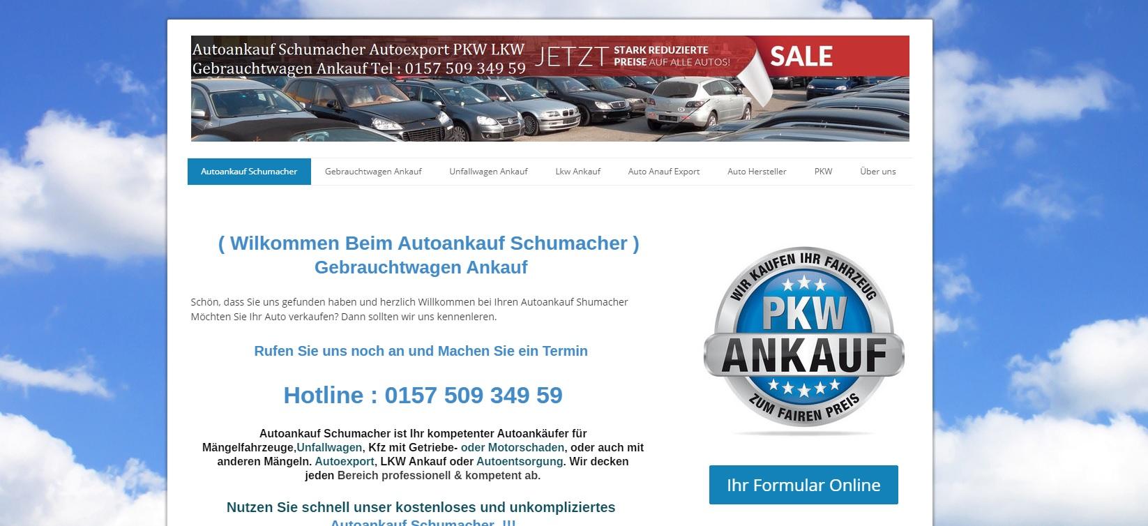 autoankauf-schumacher.de - Autoankauf Siegen