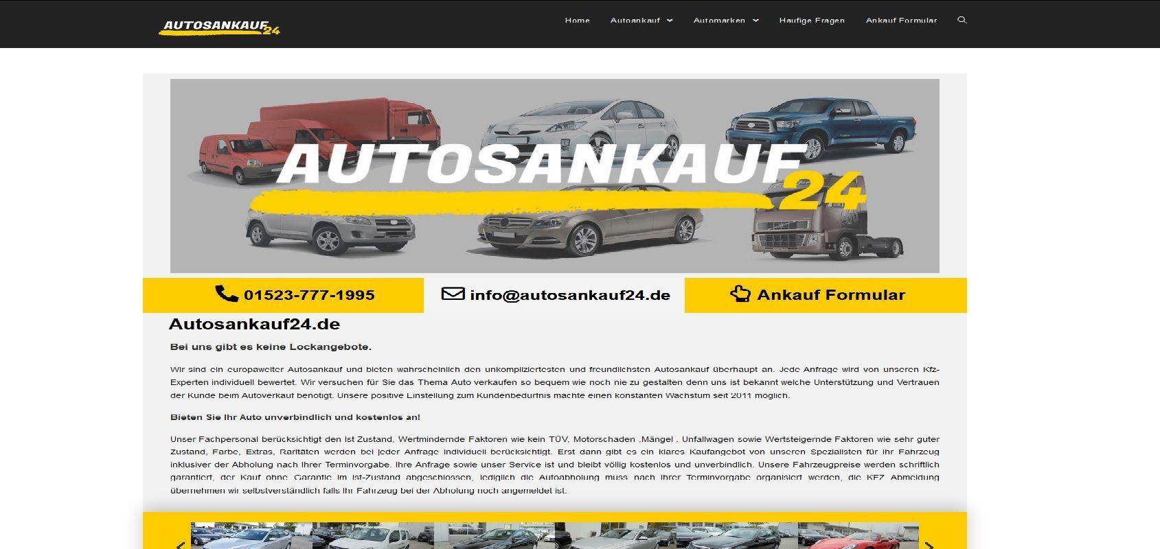 autosankauf24.de Autoankauf Wolfsburg