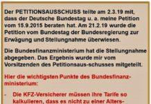 KFZ-Charts Stellungnahme BMF 2