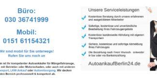 Auto verkaufen in Berlin