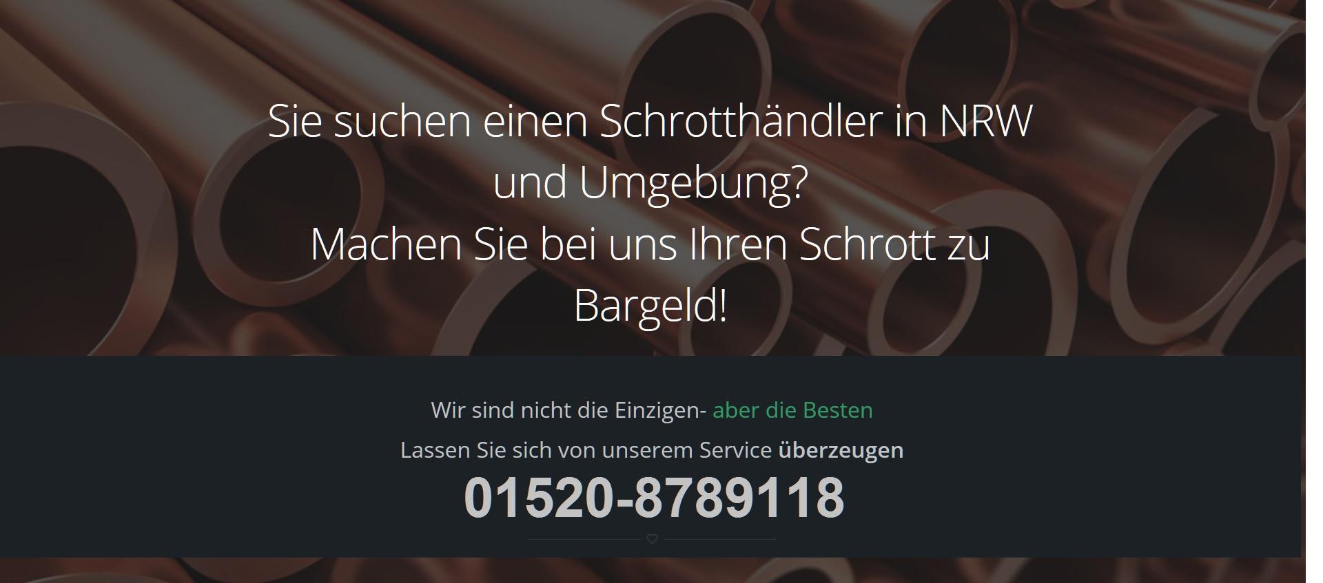 Schrottabholung Ratingen - Schrotthändler NRW