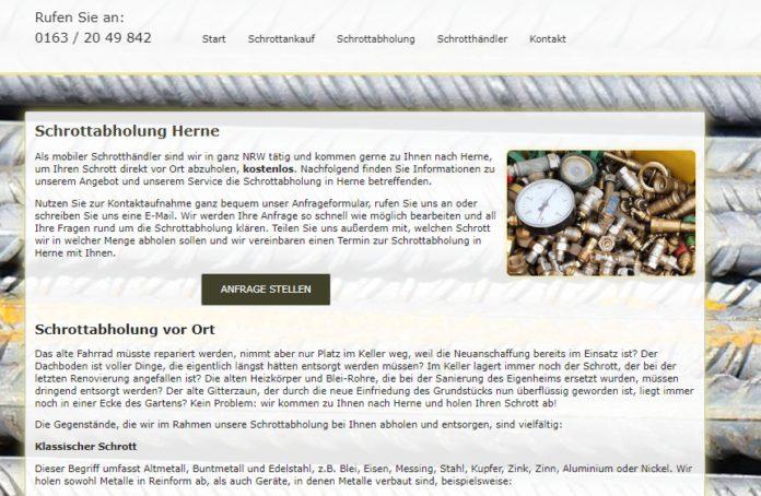 image 1 103 696x454 - Glockenklang und Musik: eine Tradition beim Abholen von Metall in Herne