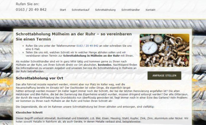 image 1 113 696x422 - Schrottabholung Mülheim an der Ruhr : Wir kümmern uns um Ihre Schrott & Metalle