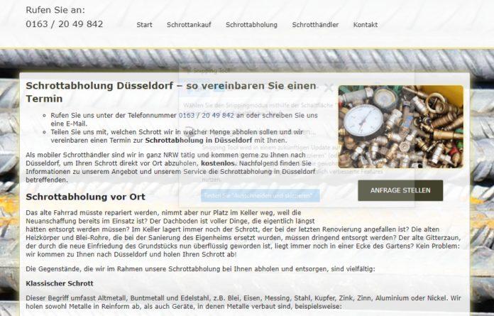 image 1 123 696x445 - Abholung von Altmetall in Düsseldorf: Wir sammeln alle Altmetalle professionell