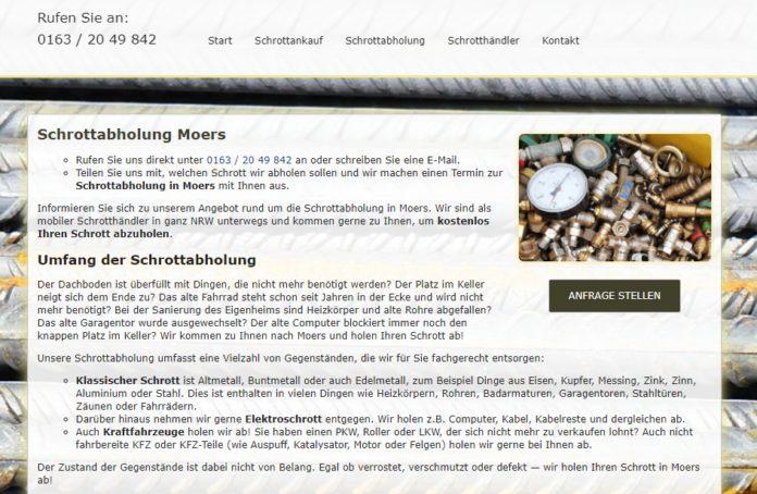 image 1 129 696x454 - Altmetall abholen in Moers Und kostenlos
