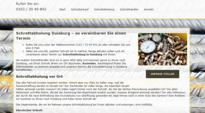image 1 130 696x385 - Schrottabholung in Duisburg von Privat und Gewerbe