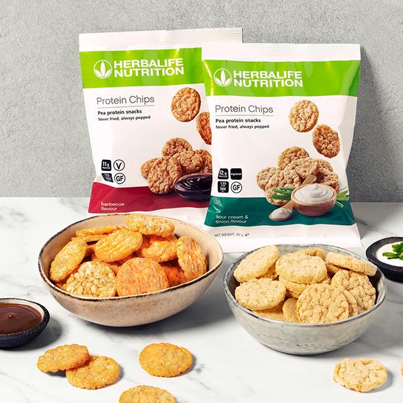403690 - Snacken ohne schlechtes Gewissen: Herbalife Nutrition launcht erste Protein-Chips