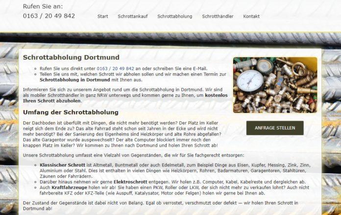 image 1 111 696x438 - Schrottabholung Dortmund : Wir holen Schrott kostenlos in Dortmund und Umgebung ab