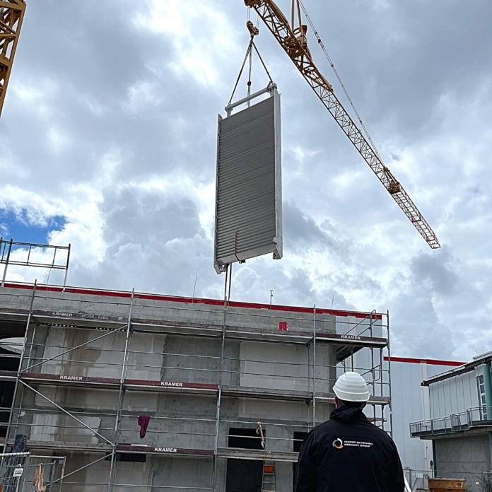 404860 696x696 - Erfolgreicher Bauabschnitt: Indoor Skydiving-Anlage am Rhein-Neckar-Zentrum in Viernheim im Zeitplan
