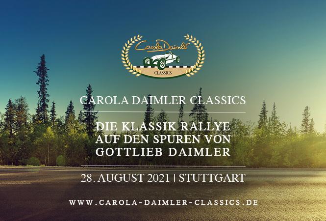 "405397 - Die erste ""Carola Daimler Classics"" am 28. August"
