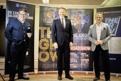 lindner lunch - Christian Lindner und Georg Kofler gaben sich die Ehre: THE GROW Entrepreneurs Lunch