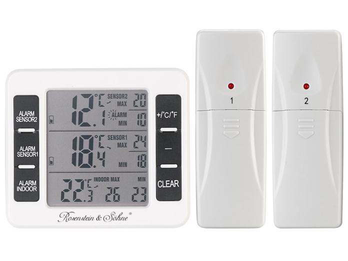 405883 696x522 - Rosenstein & Söhne Kühl- & Gefrierschrank-Thermometer