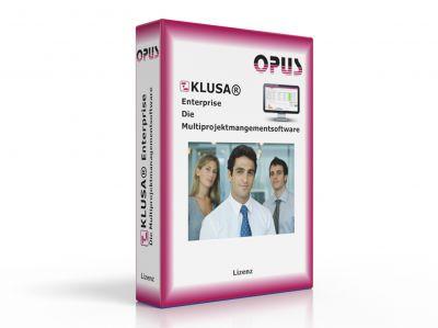 klusaenterprisebox - Neue Version von Klusa jetzt mit Projektmanagement und Arbeitszeiterfassung