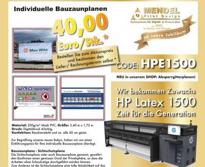 connektarseptember - HP Latex 1500 Drucker für Top-Qualität
