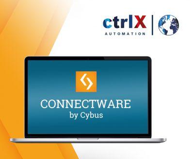 cybus ctrlx automation - Mit der Cybus Connectware App für ctrlX AUTOMATION ist ab sofort fabrikweite Vernetzung möglich