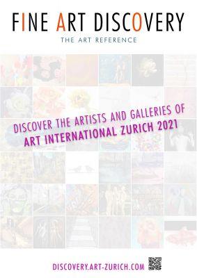 discovery artzh21 a3 1connect - Das neue Online-Magazin zur Messe - Kunstmesse Zürich 2021