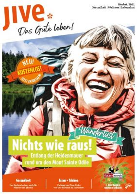 jivecover - JIVE is live! Das neue regionale Printmagazin JIVE für Südbaden.